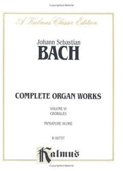 Organ works by Johann Sebastian Bach