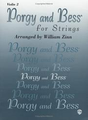 Cover of: Porgy and Bess for Strings | William Zinn