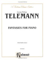 Cover of: Fantasies for Piano, Kalmus Edition