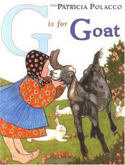 Cover of: G Is for Goat