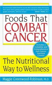 Cover of: Foods that combat cancer
