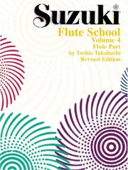 Cover of: Suzuki Flute School Flute Part (The Suzuki Method Core Materials)