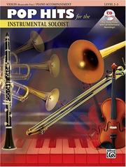 Cover of: Pop Hits For The Instrumental Soloist Book & CD (Violin & Piano Accompaniment) | Alfred Publishing