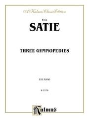Cover of: Three Gymnopedies