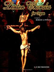 Cover of: Lenten Chorales for Organ