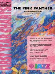 Cover of: Pink Panther: Jazz Ensemble: Gr. 1 (First Year Charts for Jazz Ensemble)