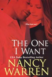 Cover of: The One I Want