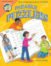 Cover of: Parable Puzzlers | William Schlegl