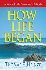Cover of: How Life Began