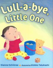 Cover of: Lull-a-bye, little one