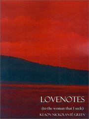 Cover of: Lovenotes | Keaon N. Green