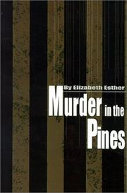 Cover of: Murder in the Pines | Elizabeth Esther