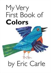Cover of: My very first book of colors