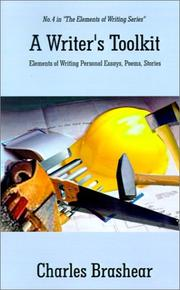 Cover of: A Writer's Toolkit