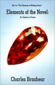 Cover of: Elements of the Novel