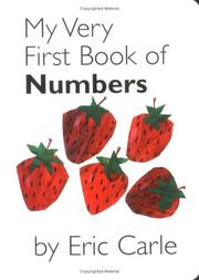 Cover of: My Very First Book of Numbers