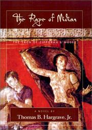 Cover of: Rape of Midian | Thomas B. Hargrave
