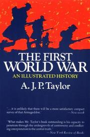 Cover of: The First World War A.J.P. Taylor