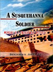 Cover of: A Susquehanna Soldier | Benjamin S. Jones