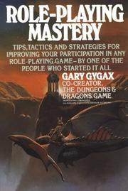 Cover of: Role-playing mastery
