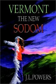 Cover of: Vermont the New Sodom | J. L. Powers