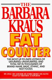 Cover of: The Barbara Kraus fat counter