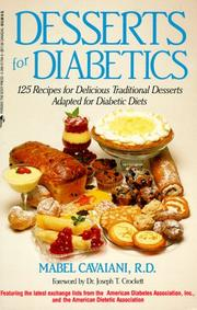 Desserts for diabetics by Mabel Cavaiani