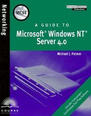 Cover of: MCSE Guide to Microsoft Windows NT Server 4.0