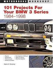 Cover of: 101 Performance Projects For Your Bmw 3-series 1984-1998 | Wayne R. Dempsey