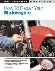Cover of: How to Repair Your Motorcycle