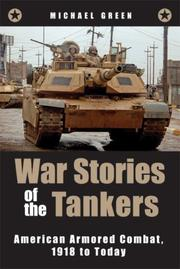 Cover of: War Stories of the Tankers