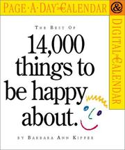 Cover of: Best of 14,000 Things to be Happy About Page-A-Day Calendar 2002