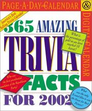 Cover of: 365 Amazing Trivia Facts Page-A-Day Calendar 2002 | Workman Publishing Company