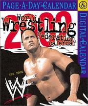 Cover of: World Wrestling Federation Page-A-Day Calendar 2002 | Workman Publishing Company