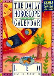 Cover of: Leo Page-A-Day Horoscope Calendar 2002 (July 23-Aug 22)