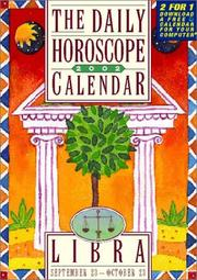 Cover of: Libra Page-A-Day Horoscope Calendar 2007 (Sept 23-Oct 23)