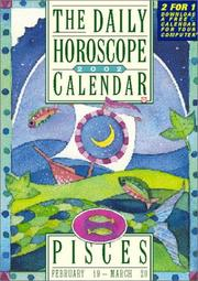 Cover of: Pisces Page-A-Day Horoscope Calendar 2002 (Feb 18-Mar 20)