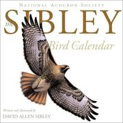 Cover of: The Sibley Calendar 2002