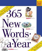 Cover of: 365 New Words-a-Year Calendar 2003 |
