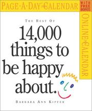 Cover of: 14,000 Things to Be Happy About Page-A-Day Calendar 2004 (Page-A-Day(r) Calendars)