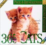 Cover of: 365 Cats Page-A-Day Calendar 2004 | Workman Publishing Company