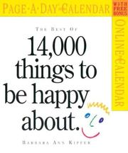 Cover of: The Best of 14,000 Things to Be Happy About Page-A-Day Calendar 2005 (Page-A-Day Calendars)
