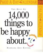Cover of: The Best of 14,000 Things to be Happy About Calendar 2006