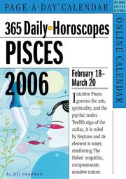 Cover of: 365 Daily Horoscopes Pisces 2006