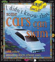 Cover of: Some Cars Can Swim