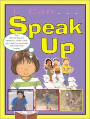 Cover of: I Can Speak Up (I Can)