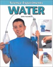 Cover of: Water (Science Experiments)
