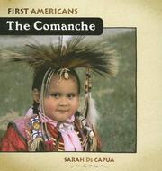 Cover of: Comanche (First Americans)