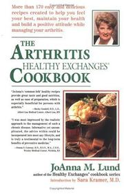 Cover of: The arthritis healthy exchanges cookbook