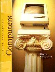 Cover of: Computers (Great Inventions)